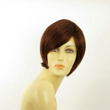 short wig for women dark brown copper intense ref: CECILIA 322 PERUK