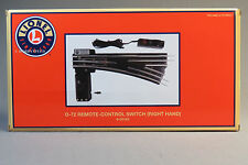 LIONEL 072 REMOTE SWITCH RIGHT HAND TUBULAR track turn out o gauge 6-65165 NEW