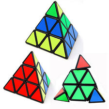 Pyraminx Triangle Speed Block Magic Game Educational Toy Pyramid cube New