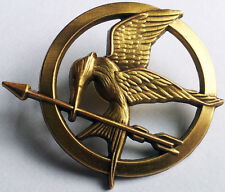 SPILLA HUNGER GAMES PIN MOCKINGJAY GHIANDAIA KATNISS Brooch La Ragazza di Fuoco