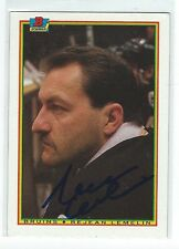 Rejean Lemelin Signed 1990/91 Bowman Card #32