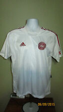 Youth XL Adidas Dansk Boldspil Union Danish Soccer Football Club Jersey Shirt