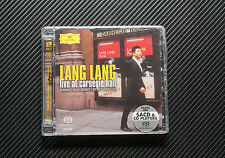 Lang Lang: Live at Carnegie Hall SACD -  Brand New