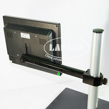 Metal Arm Support Holder Rod Kit for Microscope System Stand Camera LCD Monitor