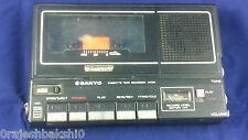 Sanyo M5000 Professional Flat Tape audio cassette recorder working Japan read