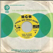 JOHNNY TILLOTSON You're the reason US PROMO SINGLE MGM 1967