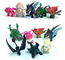 7PCS How To Train Your Dragon 2 Toothless Battle Figure Boy Gift Collection UK#1