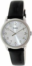 Timex T2P119, Women's Black Leather Strap Watch,  T2P1199J