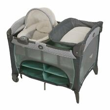 Graco Pack 'N Play PLAYARD Newborn Napperstation DLX, BABY PLAYPEN, Manor