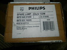 NEW OEM PHILLIPS LCA 3116 BSURE 132W PROJECTOR BULB LC3031 LC6231 LC3132 7181