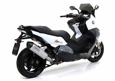 SILENCIEUX ARROW RACE-TECH ALU BMW C650 SPORT 2016- 73009MI+73512AK