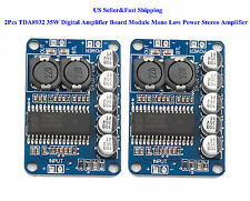 2Pcs TDA8932 35W Digital Amplifier Board Module Mono Low Power Stereo Amplifier