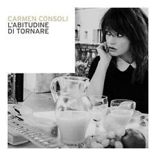 Carmen Consoli - L'abitudine di tornare CD (nuovo album/disco sigillato)