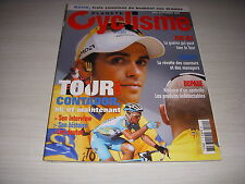 PLANETE CYCLISME 11 08.2007 MIROIR du TOUR CONTADOR TOUTES les ETAPES DECRITES