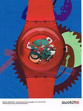 PUBLICITE ADVERTISING 094  2012   SWATCH   la nouvelle collection de montres