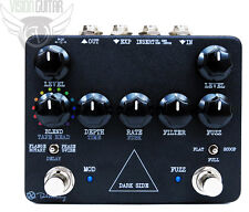 NEW! Keeley Dark Side - Fuzz, Delay and Modulation