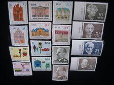 Germany-1969 DDR Year Set of 21 Sets, 91 Stamps, 1 Souvenir Sheet MNH OG VF