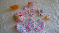 My Little Pony Accessories 12 Piece Misc. Hanger Clothes Outfit Lot Plastic Toys