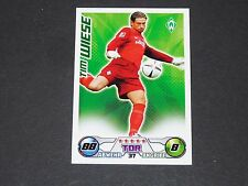 TIM WIESE WERDER BREMEN TOPPS MATCH ATTAX PANINI FOOTBALL BUNDESLIGA 2009-2010