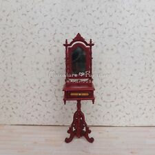 1:12 Dollhouse Miniature Furniture Mahogany Patch Bedroom Shaving Stand