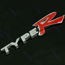 3D TYPER TYPE R Racing Emblem Badge Logo Decal Sticker