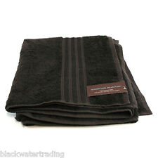 NWT Hudson Park Collection Premier Bath Towel Cotton Espresso Brown