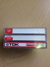 3 TDK D90 Minute Used Cassette Tapes
