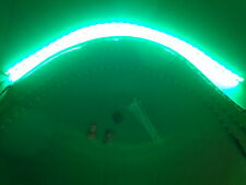 4pc GREEN WHEEL WELL CUSTOM LED UNDER BODY, INTERIOR, or GOLF CART LIGHT KIT