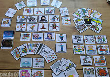 Multicultural picture flash cards~Teaching aids for children~Our world~60 cards~