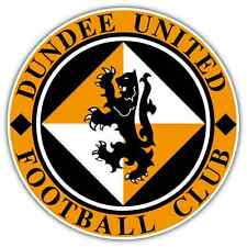"Dundee United FC Scotland Football Soccer Car Bumper Sticker Decal 4.6""X4.6"""