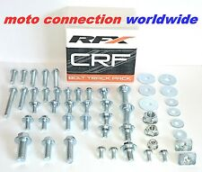 RFX HONDA CR85 CR125 CR250 02-07 CRF TRACK PACK BOLT FASTENERS KIT OEM TYPE