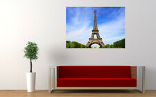 EIFFEL TOWER NEW GIANT LARGE ART PRINT POSTER PICTURE WALL