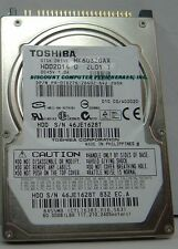MK6032GAX HDD2D14 4 in stock Tested Good Warranty Toshiba 60GB 2.5 in IDE Drive