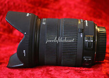 Exc. Sigma 18-200mm 3.5-6.3 DC OS Macro Zoom Lens For Canon T2i T3i T4i 30D 60D