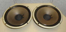 "VINTAGE 10"" ALNICO SPEAKER 8 OHMS CR-100B MUSIC HEAVY DUTY SPEAKER MATCHED PAIR"