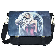 Spiral Direct  ANGEL OF DEATH SORROW Courier Bag/Shoulder Bag/Goth/Dark Wear