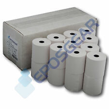 10 SHARP XEA102 XE-A102 SINGLE PLY PAPER TILL ROLLS