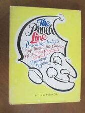 THE PUNCH LINE William Cole 1969 First Printing DJ ^^