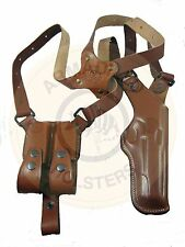 Armadillo Tan Leather Verticall Shoulder Holster for SIGSAUER P2V-Sig
