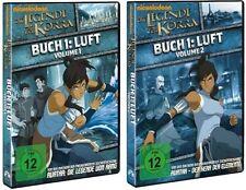 2 DVDs * DIE LEGENDE VON KORRA - BUCH 1  LUFT  VOL. 1 + 2 IM SET # NEU OVP =