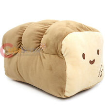 "Large Unsliced Bread Cushion Food Pillow 16"" Food Plush Cotton Food Stuffed Toy"