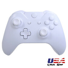 Full Housing Shell Buttons Tools Replacement for Xbox One Controller Matte White