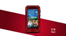 Love Mei Metallgehäuse HTC One Desire 820 spritz Wasserdicht Schutz rot