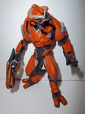 Halo Reach **ORANGE ELITE OFFICER** McFarlane Figure w/ Weapon 100% Complete