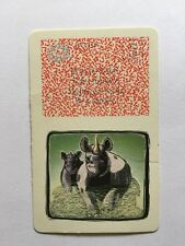 Jumanji Game Danger Card ONLY Rope Rhino Rhinoceros 5 Replacement Part Don't be
