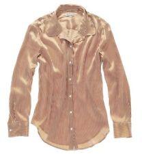 Alexa Chung for Madewell Risky Business Silk Button-Down Top Size Medium $135