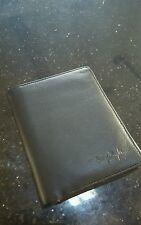 Used Thierry Mugler Black Leather Wallet - excellent condition