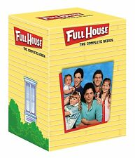 FULL HOUSE - COMPLETE SEASON 1 2 3 4 5 6 7 8 - DVD - UK Compatible -  sealed