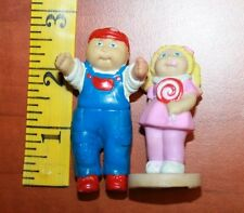 Vintage 1984 Cabbage Patch Kids PVC Figures (the other is just plastic) cake top