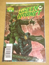 GREEN HORNET BLOOD TIES #1 SIGNED DF VARIANT JOHNNY DESJARDINS CERT #115/1936